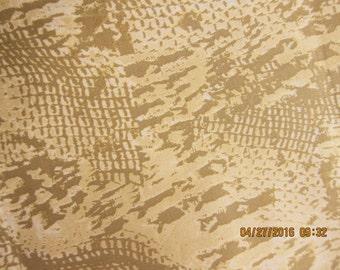ANIMAL FABRIC JUNGLE - Hamil Design Reptile Skin - 1 Yard Rare Design - #sw5