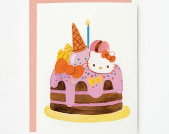 Hello Kitty Cake 1pc