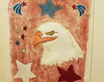 Americana Eagle w/ Stars