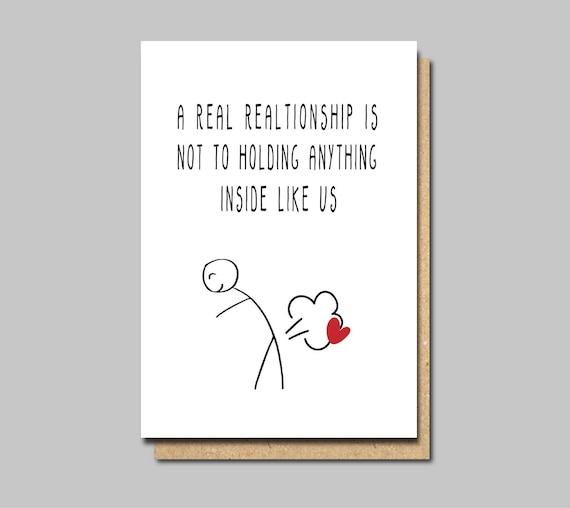 Card for boyfriend funny love card funny anniversary card m4hsunfo