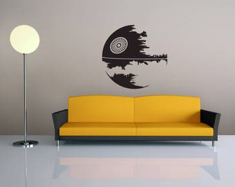 Good Star Wars Wall Decal Death Star Decal Home Decor Wall Art Decal Wall  Sticker Star Wars