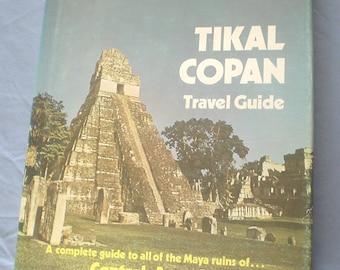 Vtg 1978 Tikal Copan Travel Guide A General Intro to Maya Art Architecture Archaeology Mayan Ruins Central America Photos Maps HB DJ EuC BiN