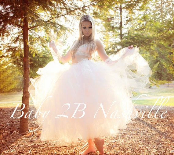 Bridal Dress Skirt Wedding Separates Womens Dress Skirt Pink and Ivory Bridal Tulle Skirt Wedding Skirt Tutu Skirt Ivory Skirt Pink Skirt