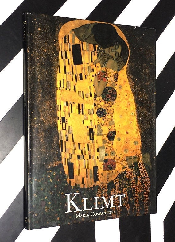Klimt by Maria Costantino (1990) hardcover book