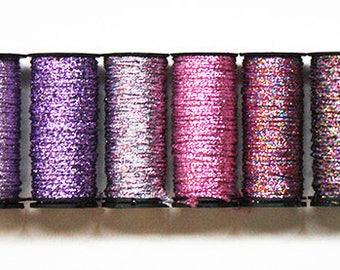 Kreinik 16 Braid 4.00 Each, Kreinik Metallic Braid, Metallic Threads, Needlework, Needlepoint, Needlework Metallics, Kreinik Metallic Thread