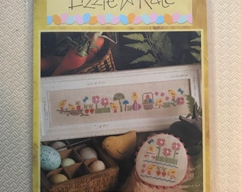 Lizzie Kate Chick Party Cross-Stitch Pattern