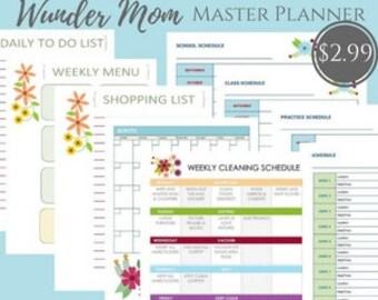 Wunder-Mom Master Planner for Moms