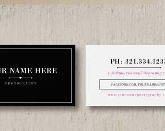 Photographer business card template senior photography modern business card template wedding photographer business card photography business card design customizable photoshop design reheart Image collections