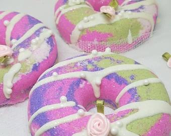 Donut Bath Bombs - Bridesmaid Sweet Pea