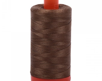 Aurifil 50wt Thread - Dark Sandstone 1318 - 1422 yards, 1300 Meter