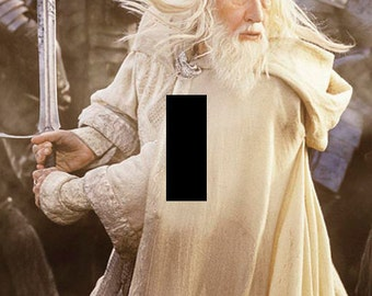 Gandalf the White - Lord of the Rings - Single Light Switch Plate Cover