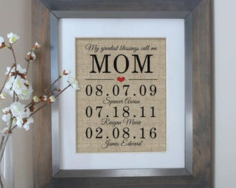 Mothers Day Gift Ideas Personalized Mom Gifts for Mom from Daughter Birthday Mother's Day Grandma Mother Daughter Mom Gifts from Daughter