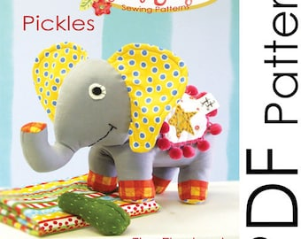 PDF Pickles the Elephant Sewing Pattern