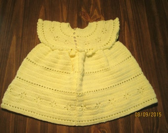 yellow toddler party dress