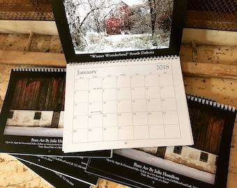 2018 Barn Art Calendar