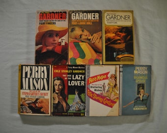 Group of 7 Erle Stanley Gardner Books - Paperbacks - Lot 2