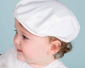 Finn Newsboy Cap, Baby Boy Newsboy Hat, Boys Christening & Baptism