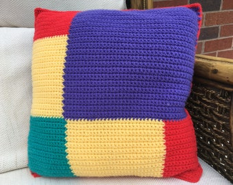 Master Harlequin - the VW inspired crochet cushion kit