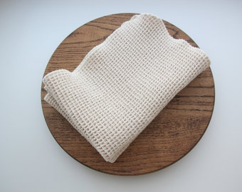 NEW!  100% Organic Waffle Weave Cotton Dish Towel, Tea Towel. available in two Sizes