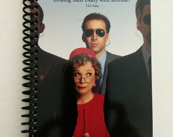 Guarding Tess Spiral Notebook Hand Made from Original VHS Tape Movie Cover