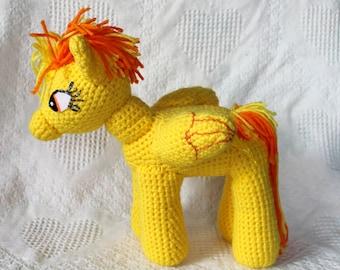 Spitfire Plush, My Little Pony Amigurumi Plush, FIM