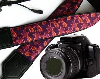 InTePro Giraffe camera strap. DSLR / SLR Camera Strap. Camera accessories. Great Gift.