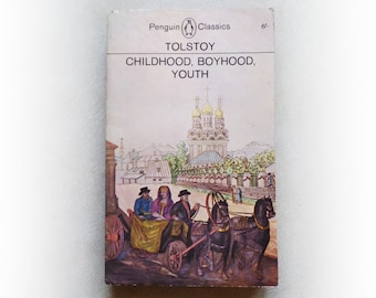 Leo Tolstoy - Childhood, Boyhood, Youth - Penguin vintage paperback book - 1964