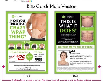 It Works! Blitz Card (Male Version) - Digital File