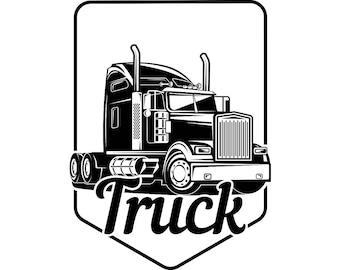 Trucking Logo 3 Truck Driver Trucker Big Rigg 18 Wheeler Semi