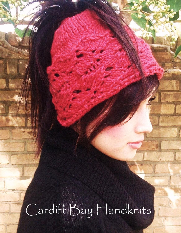 Knitting PatternKnit Ponytail Hatteenswomenmessy bun