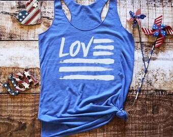4th of July Tank - 4th of July Shirt - Merica Tank - Merica AF Shirt - Womens 4th of July - American Flag Shirt - 4th of July Shirt Women