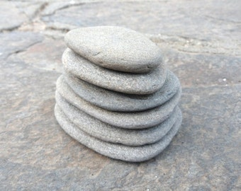 Flat Stackable Stone, Stacking Stones, Stacking Pebbles, Beach Pebbles, Cairn Stones, Zen Stones, Mood Stones, Meditation Stones