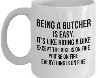 Butcher Gift, Butcher Mug, Butcher, Gift For Butcher, Personalized Butcher, Funny Butcher Mug, Funny Butcher Gift, Butcher Gifts