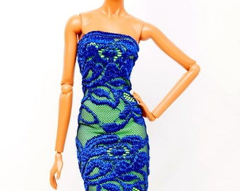 clothes for Fashion Royalty dolls (dress):  Niké