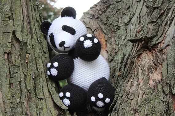 Amigurumi Panda Bear Crochet Pattern : Crochet panda bear pattern pdf crochet panda bear pattern crochet