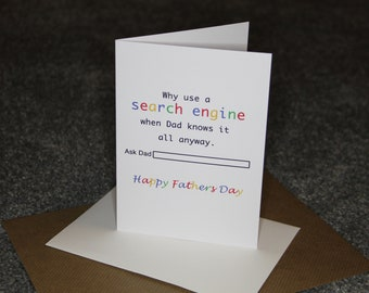 Search Engine - Fathers Day