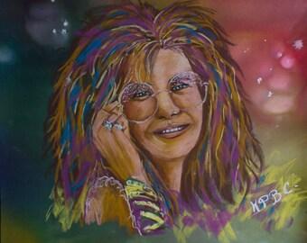Janis Joplin, a music legend