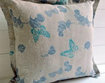 Decorative butterflies, modern design, pillow, throw pillow, decorative pillow,