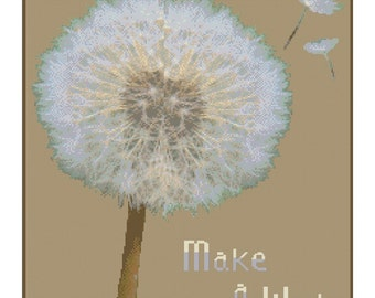 Make A Wish Cross Stitch Kit