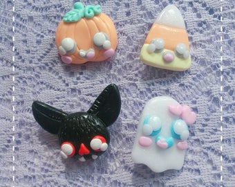 Trick or Treat Halloween brooches