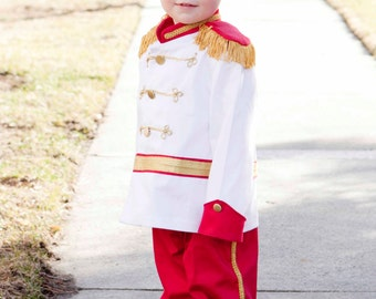 Prince Charming Costume, First Birthday, Boy Costume, Washable RingBearer, Cinderella Disney, Smash Cake Party Suit, Photo Prop, Baby Gift