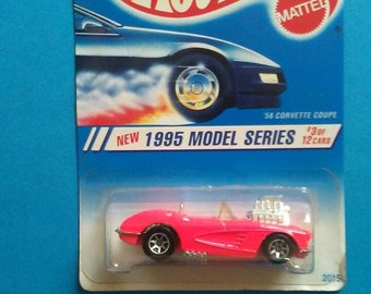 Hot Wheels 1958 Corvette Coupe new on card