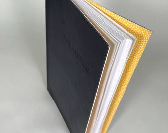 Rustic Notebook with Soft Leather Covers