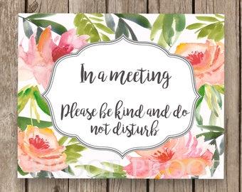 Chambre floral en utilisation signe porte confidentialité réunion École conseiller psychologue thérapeute orientation confidentialité déjeuner tas groupe conseils