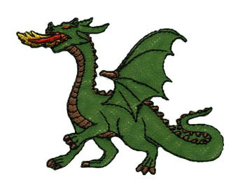 fusible badge Green Dragon