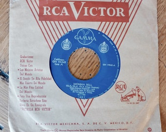 Monna Bell - Mexican Singer - 45 Record