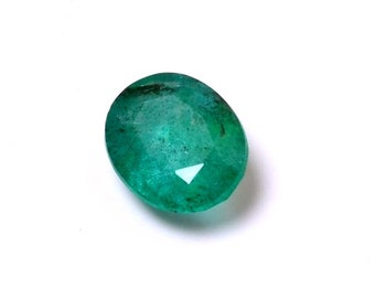 Emerald 4.40 Cts Emerald Oval Shape Gemstone 12.20X9.75 MM Size Natural Emerald Loose Oval shape Gemstone 016