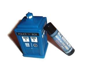 CLEARANCE! All American - Apple Pie Flavor Doctor Who Inspired Lip Balm Geek Stix - Peri Brown