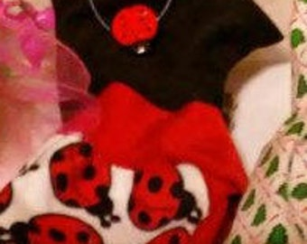 Barbie Ladybug dress 129B