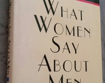 Gift Book - Mini Hardback - What Women Say About Men